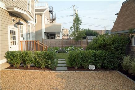 Oak Bluffs Martha's Vineyard vacation rental - Driveway, front entrance and beautifully landscaped lawn.