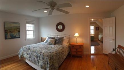Edgartown Martha's Vineyard vacation rental - 2 Floor queen bedroom with doorway to twin bedroom