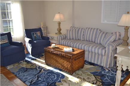 Katama - Edgartown, Katama Martha's Vineyard vacation rental - Cozy living room.