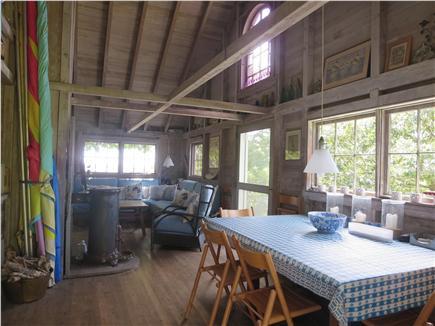 West Tisbury Martha's Vineyard vacation rental - Dining room to living room