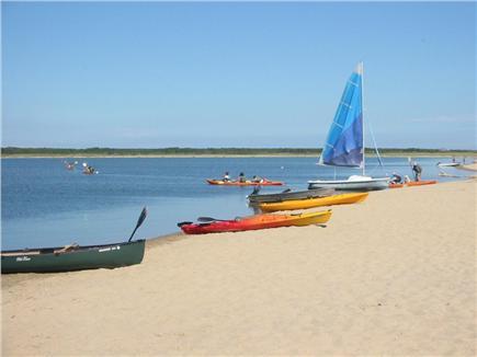 West Tisbury Martha's Vineyard vacation rental - South beach, pond side