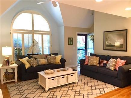 Edgartown Martha's Vineyard vacation rental - Bright and airy living room