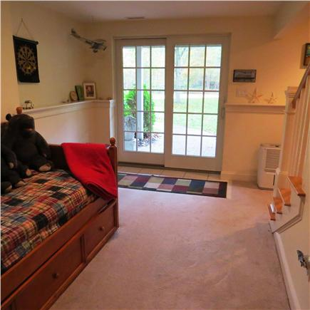 Edgartown Martha's Vineyard vacation rental - Lower level with 2 trundle beds
