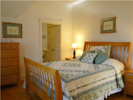 Edgartown Martha's Vineyard vacation rental - Upstairs queen bedroom with private bathroom