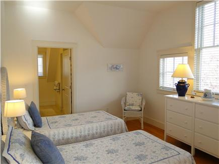 Edgartown Martha's Vineyard vacation rental - Upstairs twin bedroom with private bathroom