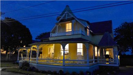 Oak Bluffs Martha's Vineyard vacation rental - Lovely Victorian home on a gorgeous summer night!