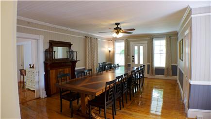 Oak Bluffs Martha's Vineyard vacation rental - Dining area for the family to sit & tell their day's adventures