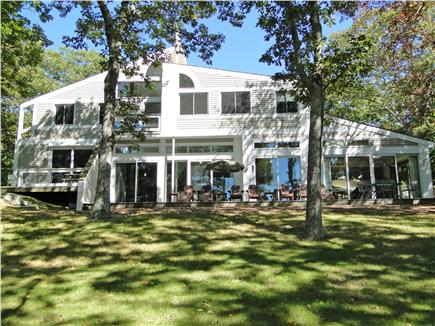 Lambert's Cove  West Tisbury Martha's Vineyard vacation rental - Lovely contemporary home overlooking Seth's Pond