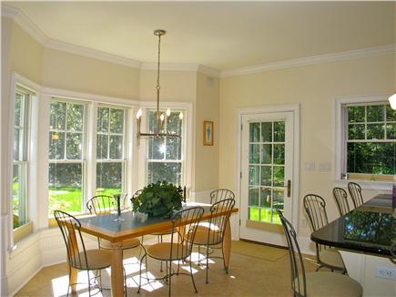 Vineyard Haven, Tisbury Martha's Vineyard vacation rental - Breakfast nook off the kitchen
