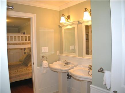 Vineyard Haven, Tisbury Martha's Vineyard vacation rental - Jack and Jill bath shared with bedroom 2 and 3