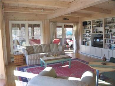Aquinnah, Martha's Vineyard Martha's Vineyard vacation rental - Relax in the Living Room and...