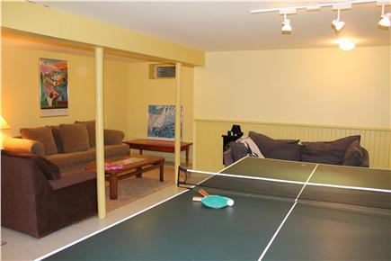 Vineyard Haven Martha's Vineyard vacation rental - Finished basement ping pong table