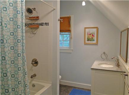 West Tisbury Martha's Vineyard vacation rental - Recently refinished upstairs full bathroom