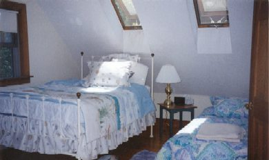 Chilmark Martha's Vineyard vacation rental - 2nd Bedroom with private bath
