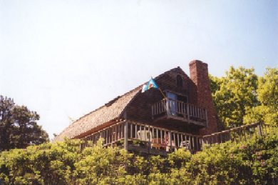 Chilmark Martha's Vineyard vacation rental - Deck and Hot Tub