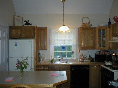Aquinnah Martha's Vineyard vacation rental - Chat while you prepare dinner and await your guests.