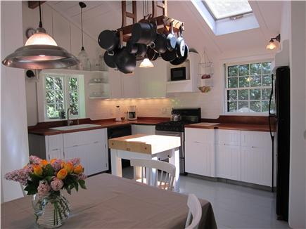 Vineyard Haven Martha's Vineyard vacation rental - Sunny kitchen with eat-in dining area, well-equipped for cooking.