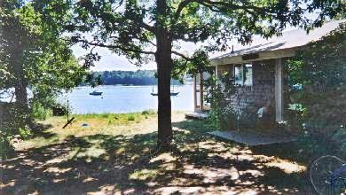 Vineyard Haven Martha's Vineyard vacation rental - View of house and Lake Tashmoo