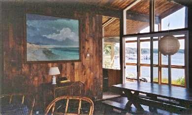 Vineyard Haven Martha's Vineyard vacation rental - Shows part living room, porch.