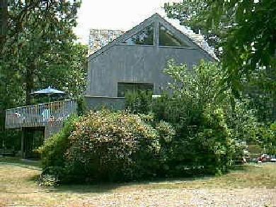 Edgartown Martha's Vineyard vacation rental - View of house from side view