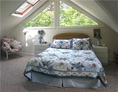 Edgartown Martha's Vineyard vacation rental - Master bedroom with queen bed