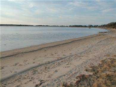 Oak Bluffs Martha's Vineyard vacation rental - Our beach steps down from the deck