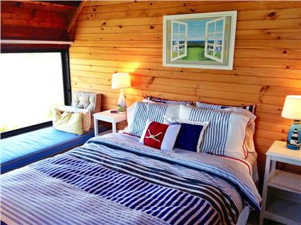 Chilmark - Lucy Vincent Beach Martha's Vineyard vacation rental - Bedroom with queen size bed