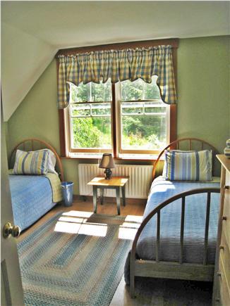 Chilmark Martha's Vineyard vacation rental - 2nd Bedroom: two twins