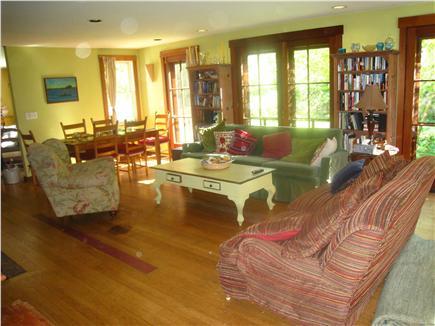 Chilmark Martha's Vineyard vacation rental - Living room