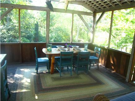 Chilmark Martha's Vineyard vacation rental - Living room from porch