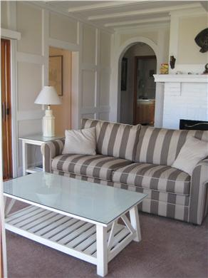 Vineyard Haven Martha's Vineyard vacation rental - Living Room with access to deck and water views