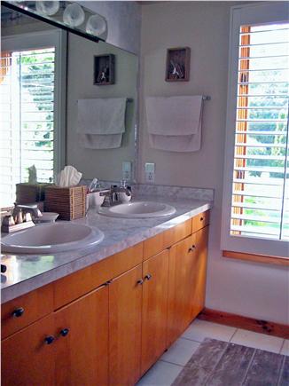 Vineyard Haven Martha's Vineyard vacation rental - Bathroom vanity