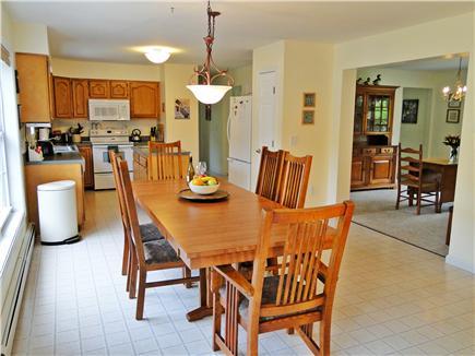 Katama - Edgartown, Edgartown/Katama Martha's Vineyard vacation rental - Modern kitchen with dining area, adjacent to dining room