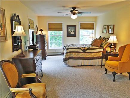 Katama - Edgartown, Edgartown/Katama Martha's Vineyard vacation rental - Master bedroom upstairs with King bed and private bathroom