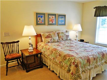 Katama - Edgartown, Edgartown/Katama Martha's Vineyard vacation rental - Main floor queen bedroom with TV