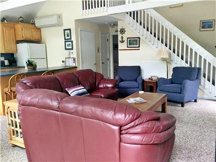 Katama - Edgartown, Martha's Vineyard, Edgartown Martha's Vineyard vacation rental - Open Living Space, flat screen TV, comfortable readng chairs, YFi