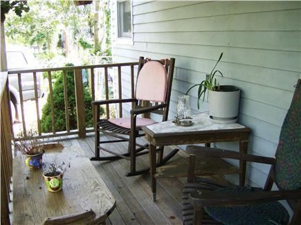OAK BLUFFS near  SAILING CAMP Martha's Vineyard vacation rental - Farmers porch