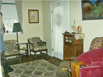 OAK BLUFFS near  SAILING CAMP Martha's Vineyard vacation rental - Entry hall from living area
