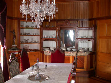 Oak Bluffs Martha's Vineyard vacation rental - Formal DR-banquet size, victorian cabinetry, FP
