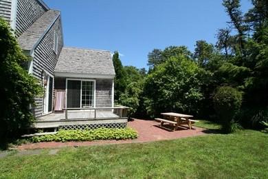 Katama - Edgartown Martha's Vineyard vacation rental - Deck and patio off kitchen and sunroom