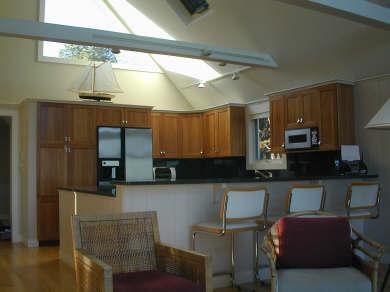 Oak Bluffs Martha's Vineyard vacation rental - Open kitchen with granite countertop