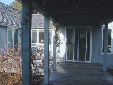 Oak Bluffs Martha's Vineyard vacation rental - Breezeway in the winter