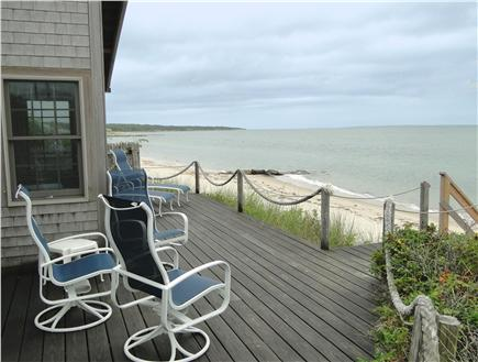 Vineyard Haven  Martha's Vineyard vacation rental - Enjoy long rests and ocean breezes from the deck