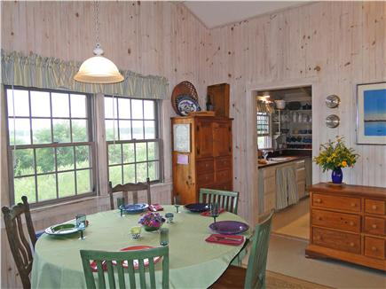 Vineyard Haven  Martha's Vineyard vacation rental - Dining area, faces lakeside