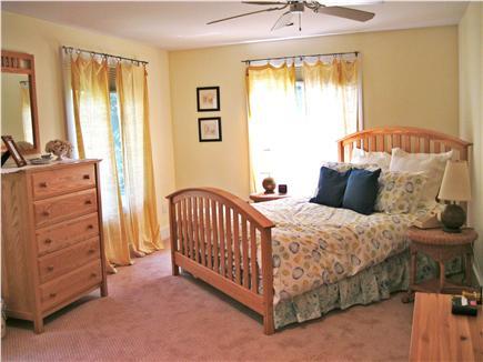 Edgartown Martha's Vineyard vacation rental - Large master bedroom upstairs with bath