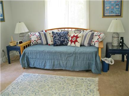 Edgartown Martha's Vineyard vacation rental - Rear BR: opens to queen or twin beds. Walk-in closet (not shown)