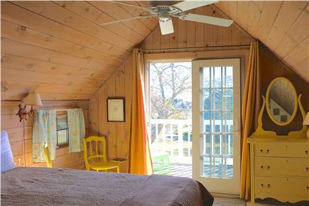 Oak Bluffs Martha's Vineyard vacation rental - Front Bed room out to water view Balcony with sitting area