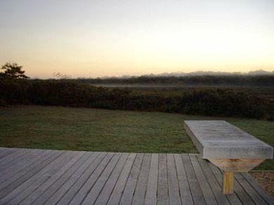 Edgartown Martha's Vineyard vacation rental - View from rear deck