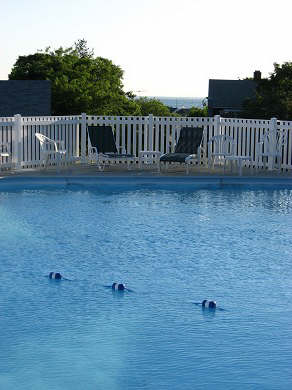 Vineyard Haven Martha's Vineyard vacation rental - Kids love to play in the pool while mom and dad relax !