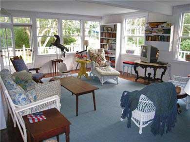 Oak Bluffs, East Chop Martha's Vineyard vacation rental - Sunroom